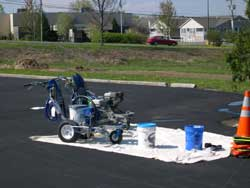 Equipment used by Superior Line Striping